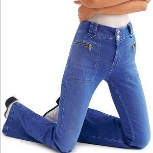 WE THE FREE High Waist Layla Flair Bottom Jeans 28